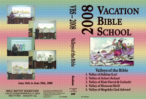 Valleys of the Bible - 2008 VBS - DVD