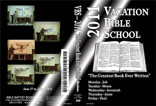 The Greatest Book Ever Written - 2011 VBS - DVD