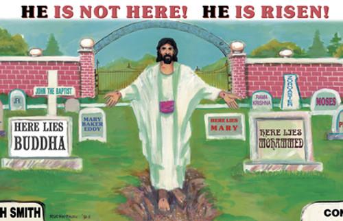 He Is Not Here, He is Risen! - Magnet
