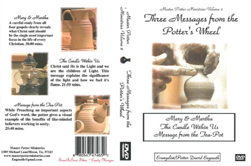 Three Messages From the Potter's Wheel - DVD
