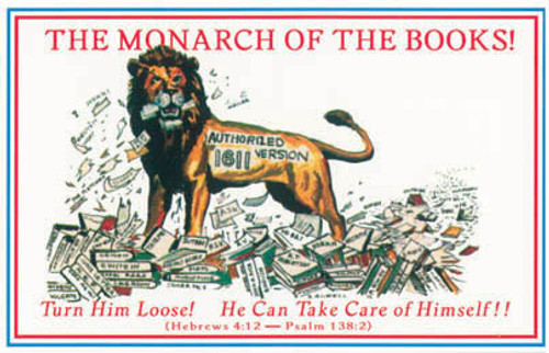 The Monarch of the Books - Postcard