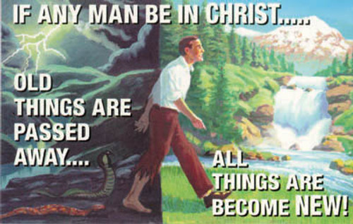 If Any Man Be In Christ - Postcard