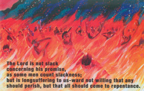 The Lord is Not Slack - Postcard