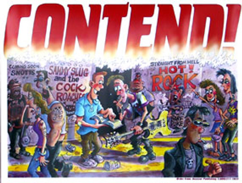 Contend! - Poster