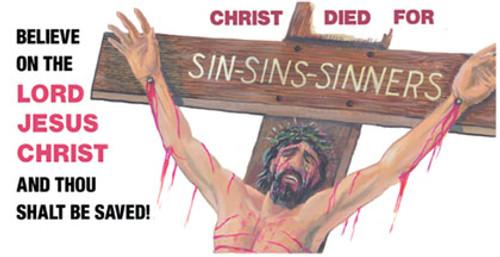 Sin, Sins, Sinners - License Plate