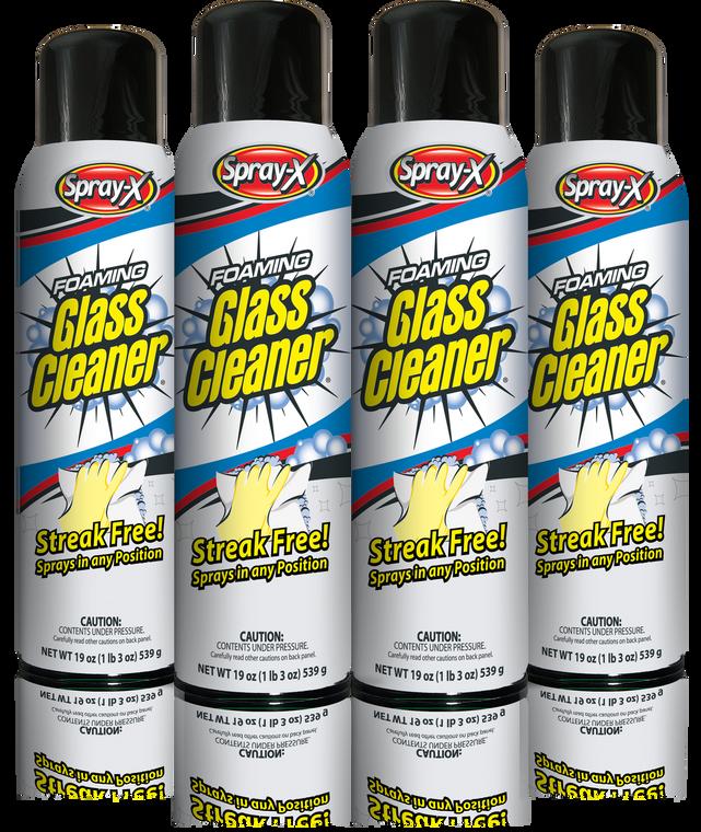 Aerosol Glass Cleaner