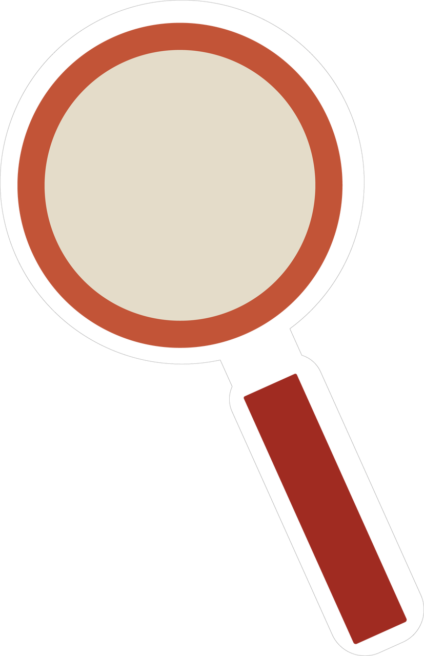 Magnify Glass SVG Cut File