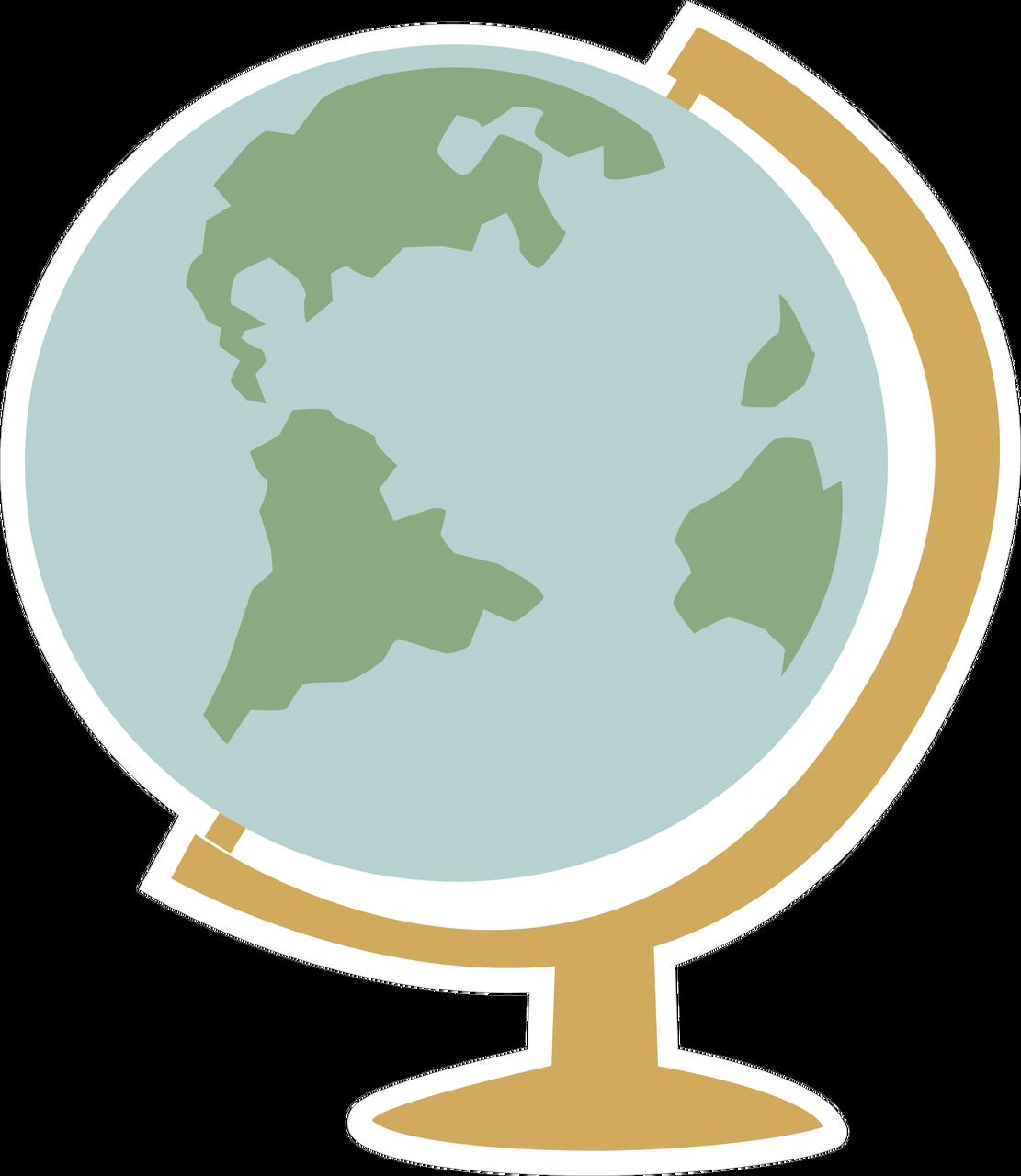 Globe SVG Cut File