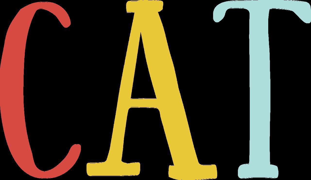 Cat Word SVG Cut File