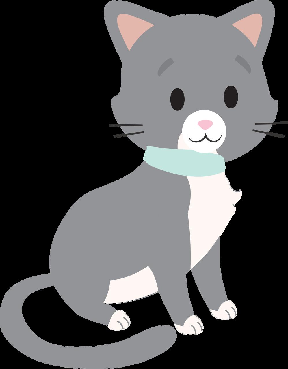 Cat #2 SVG Cut File