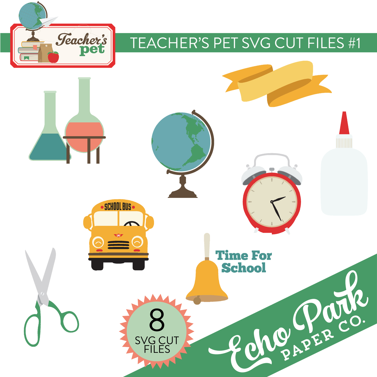 Teacher's Pet SVG Cut Files #1