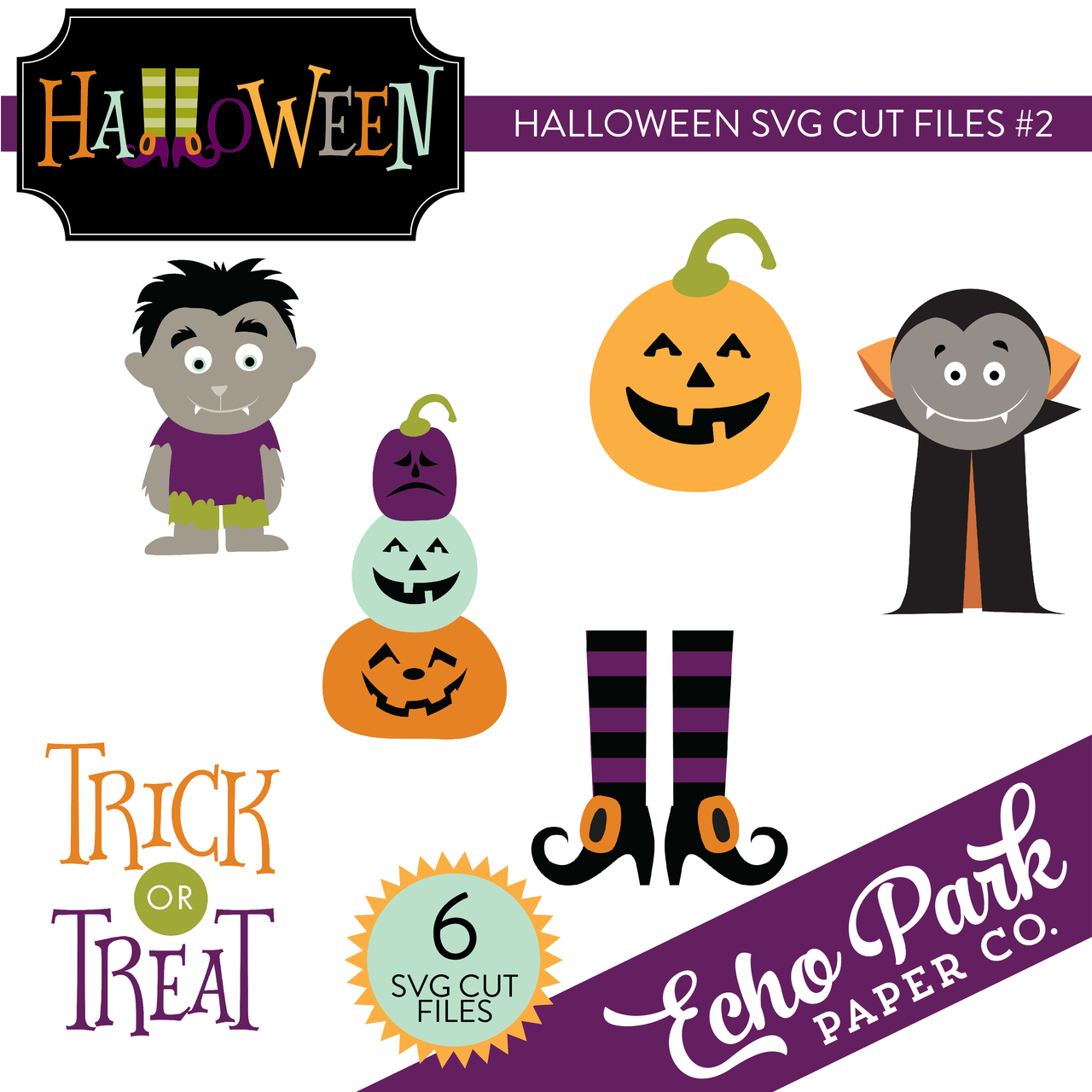 Halloween SVG Cut Files #2