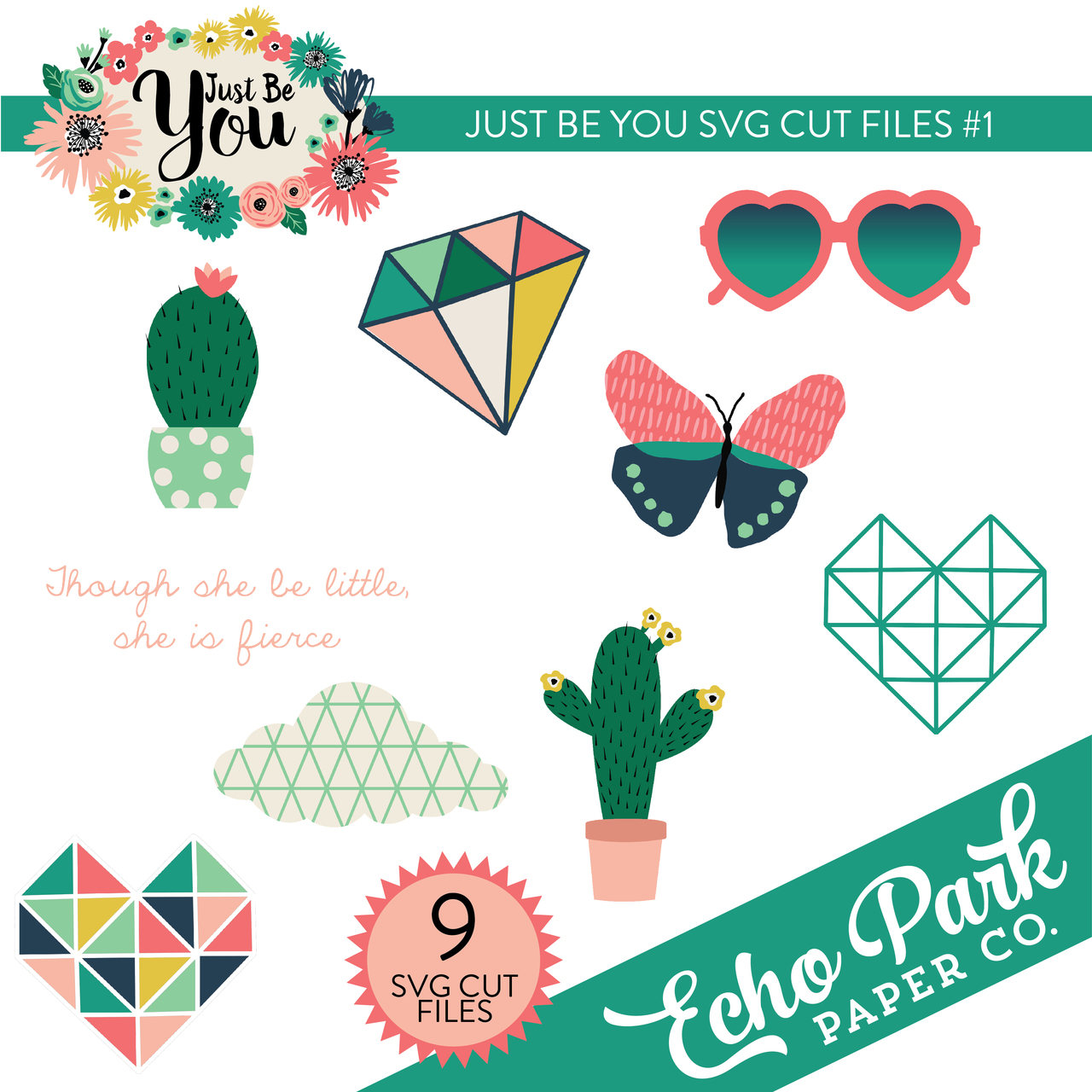 Just Be You SVG Cut Files #1