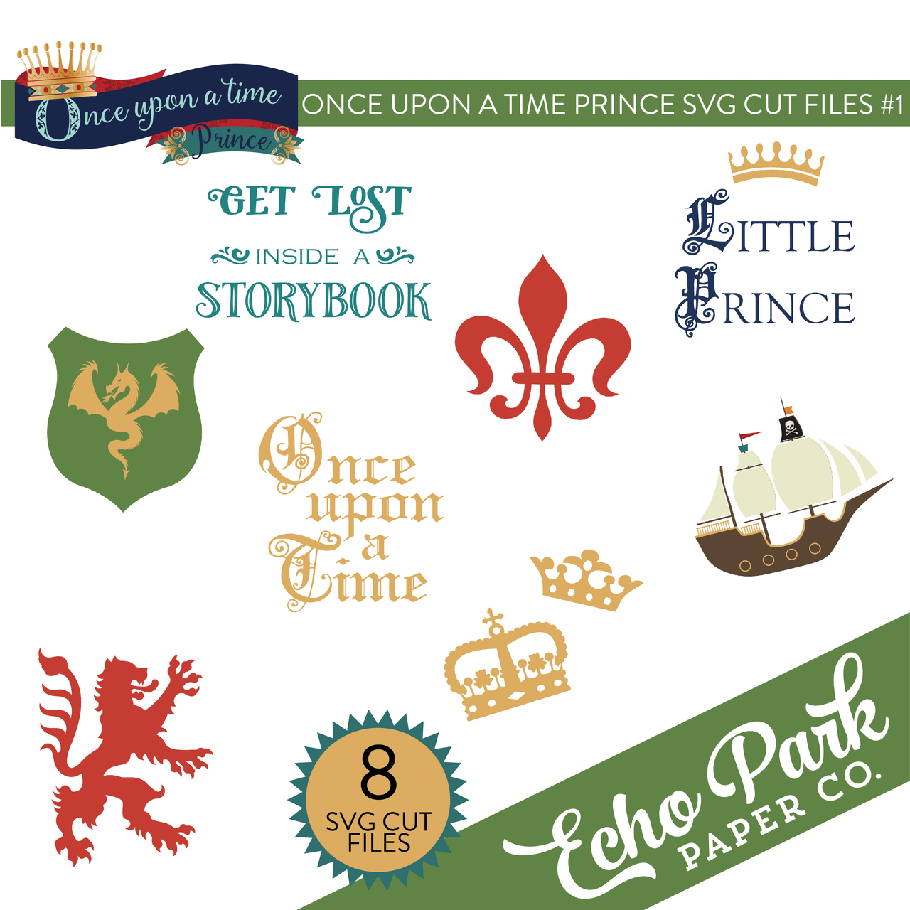 Once Upon A Time Prince SVG Cut Files #2