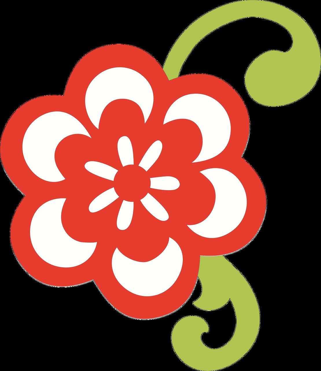 Summer Flower #2 SVG Cut File