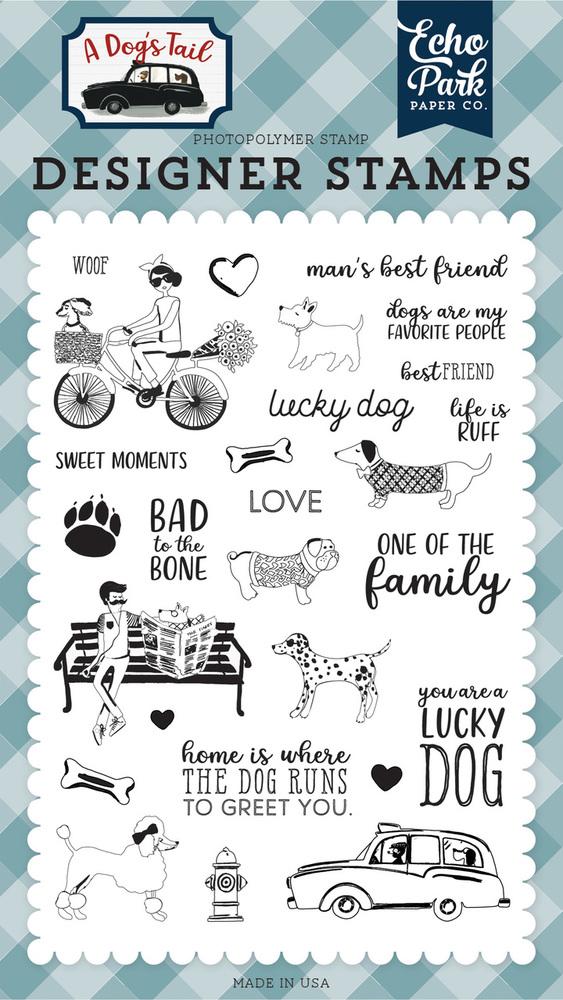 Lucky Dog Stamp