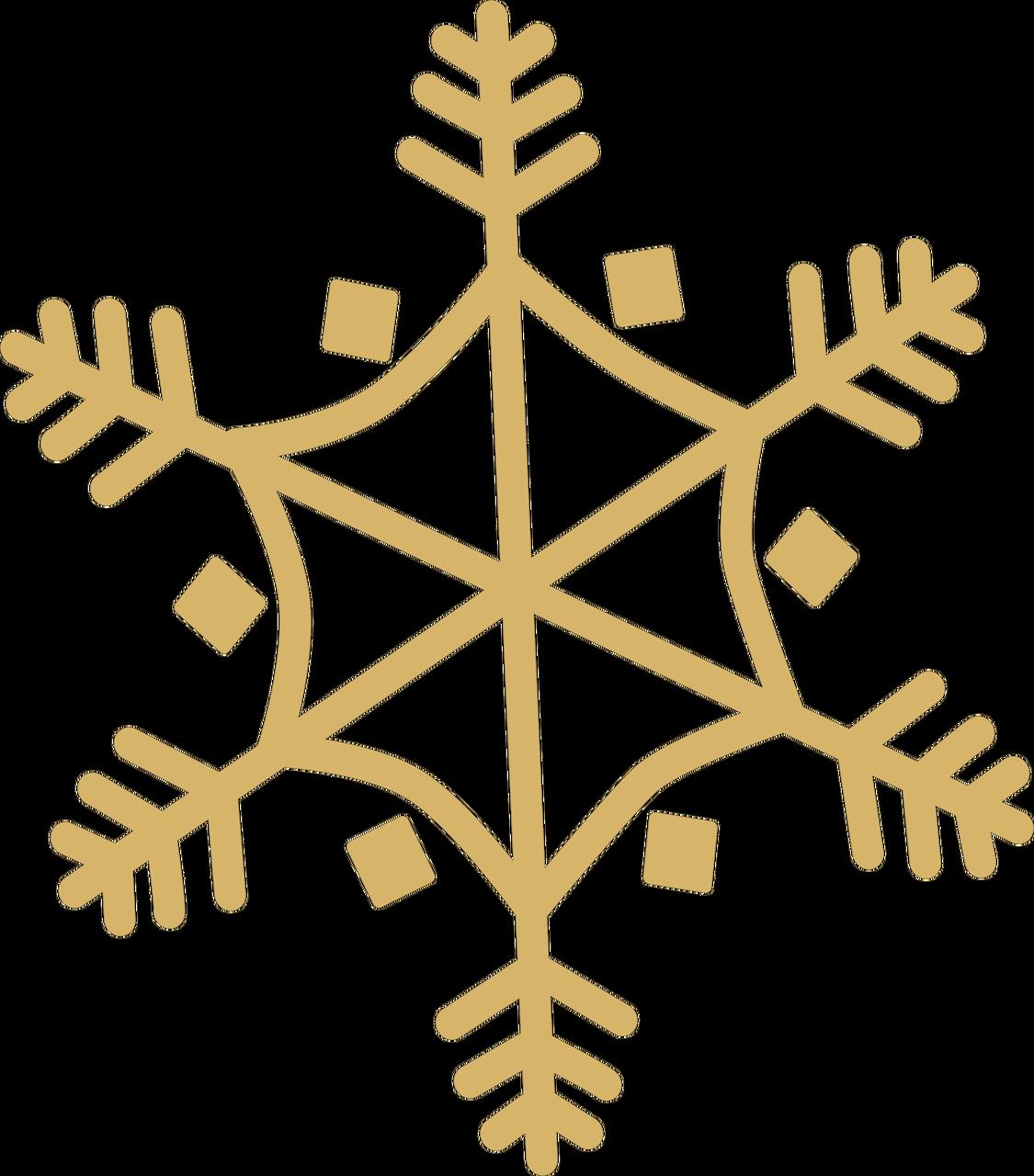 Christmas Snowflake SVG Cut File