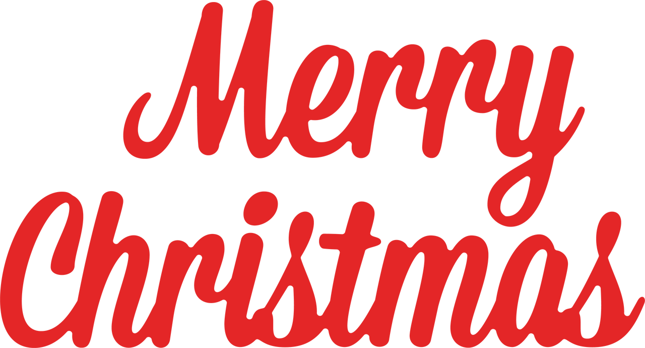 Merry Christmas #6 SVG Cut File
