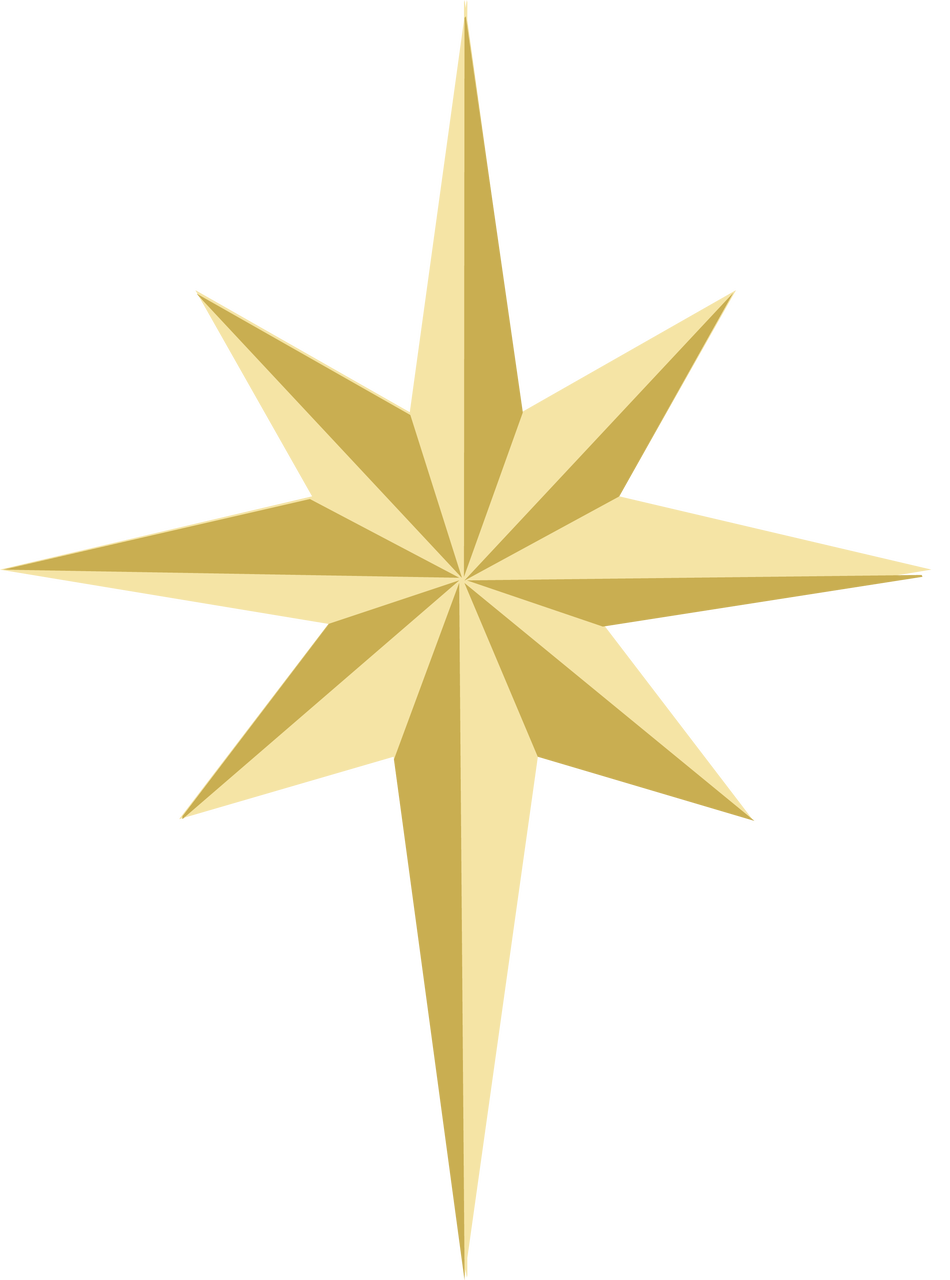 Christmas Star SVG Cut File - Snap Click Supply Co.