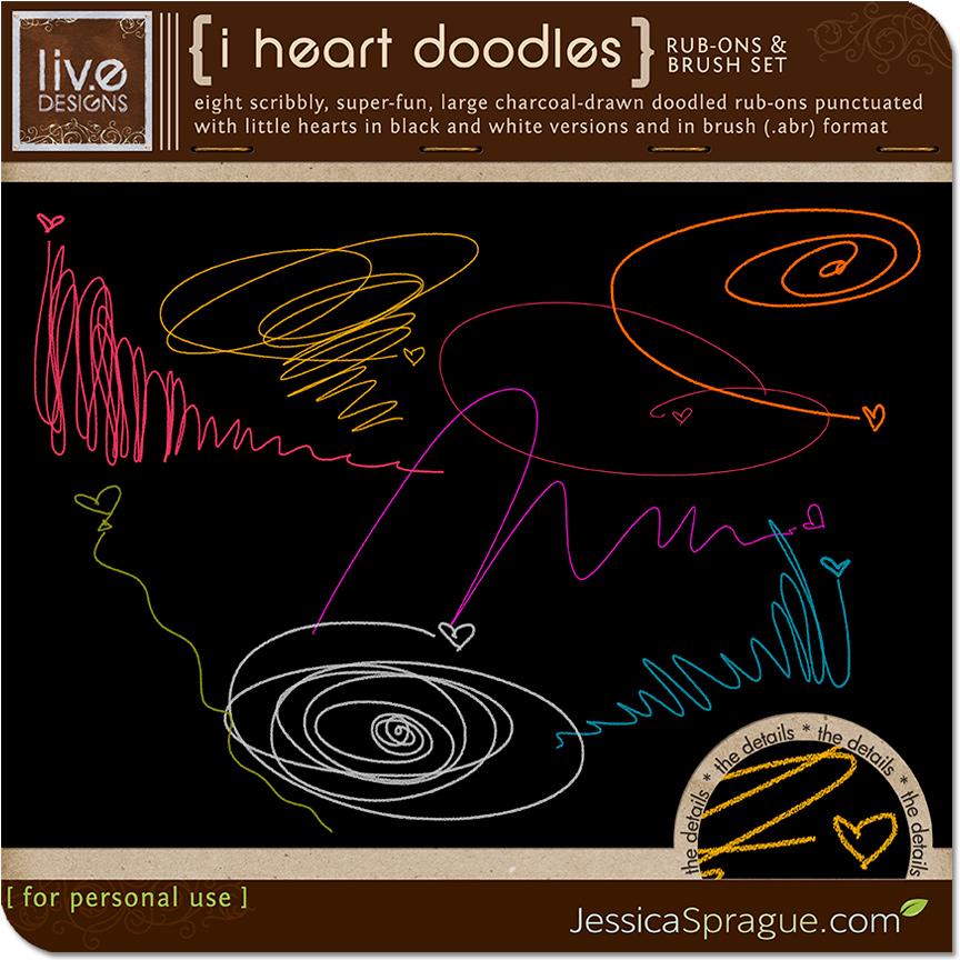 I Heart Doodles