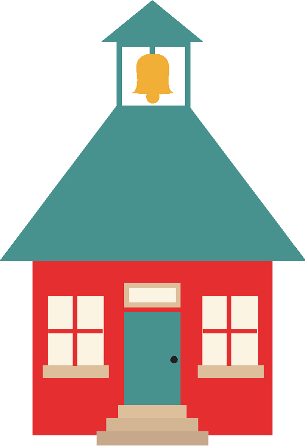 School House SVG Cut File