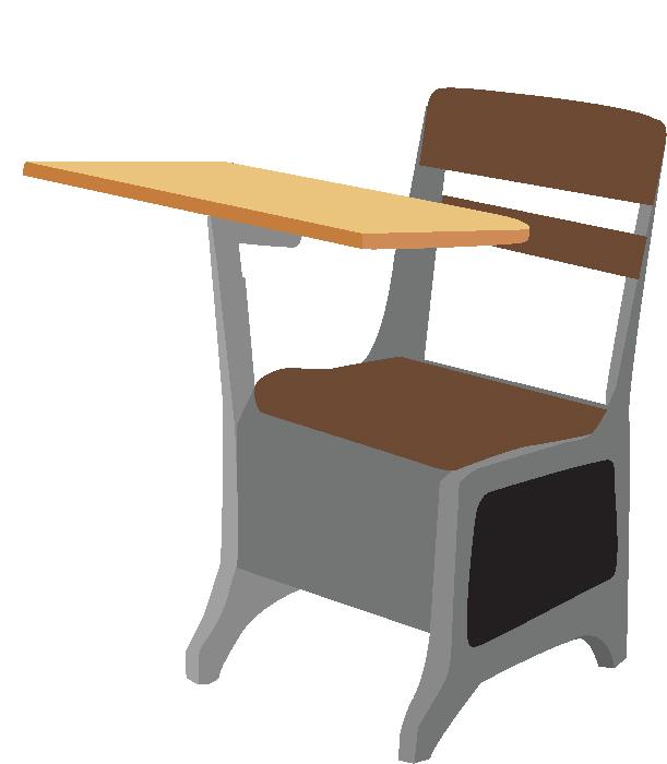 School Desk SVG Cut File