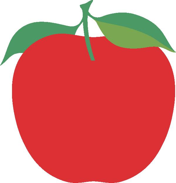 Apple #2 SVG Cut File