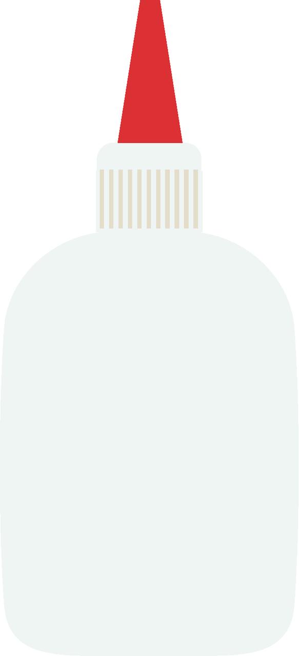 Glue SVG Cut File