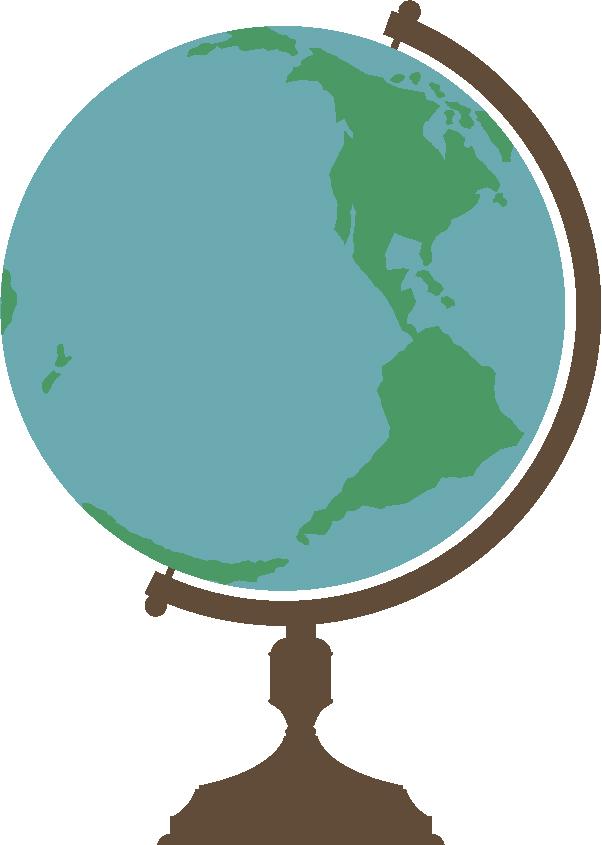Globe #2 SVG Cut File