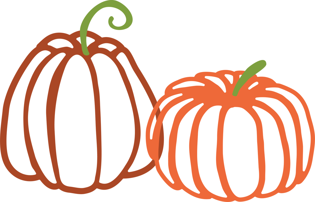 Pumpkins SVG Cut File