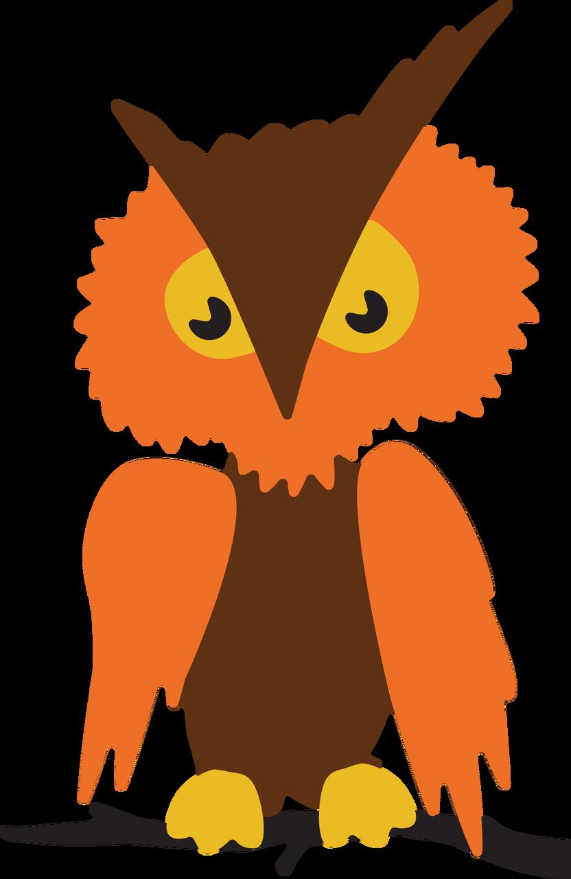 Halloween Owl SVG Cut File