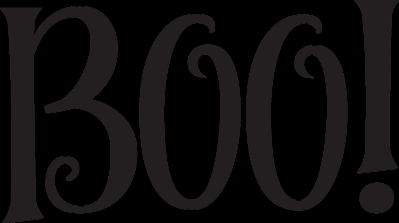 Boo! SVG Cut File