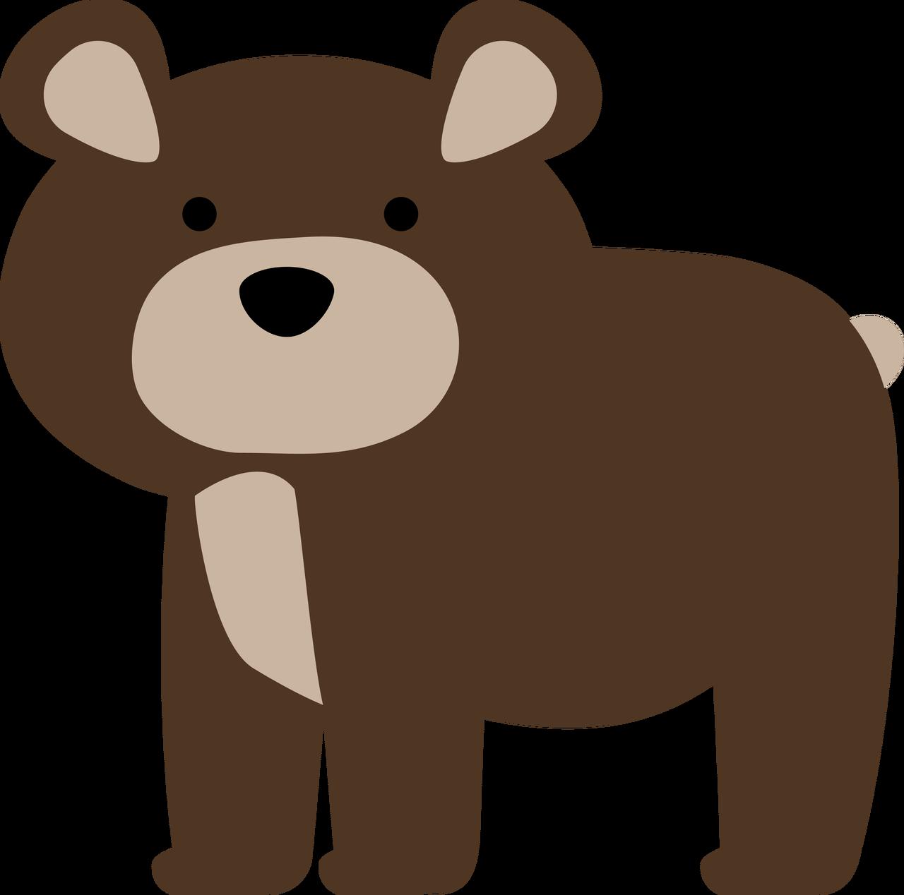 Bear #4 SVG Cut File