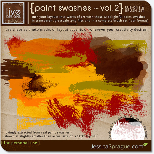 Paint Swashes Vol.2