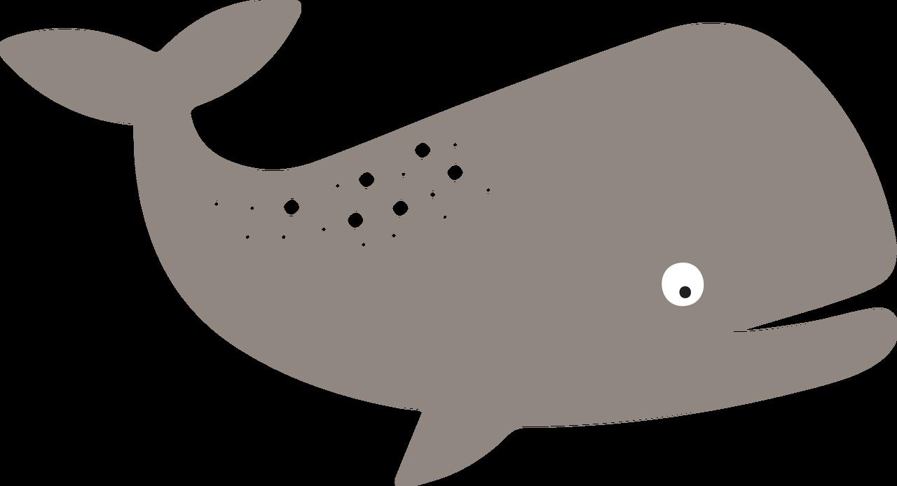 Whale #2 SVG Cut File