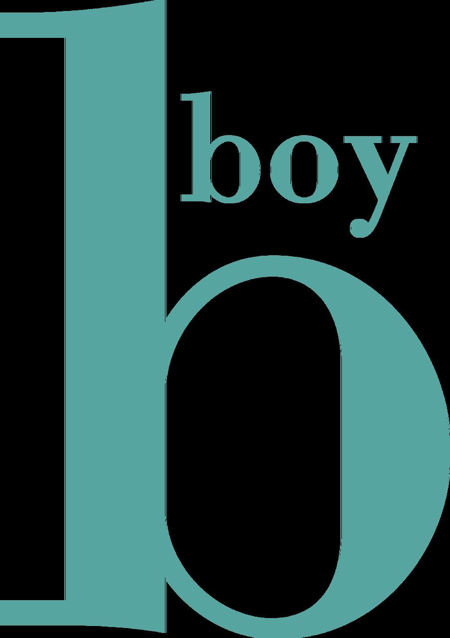 B for Boy SVG Cut File