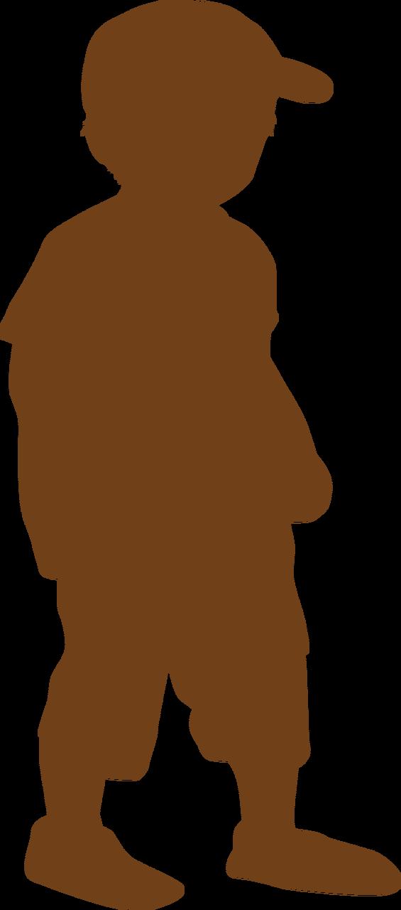 Boy Silhouette #4 SVG Cut File