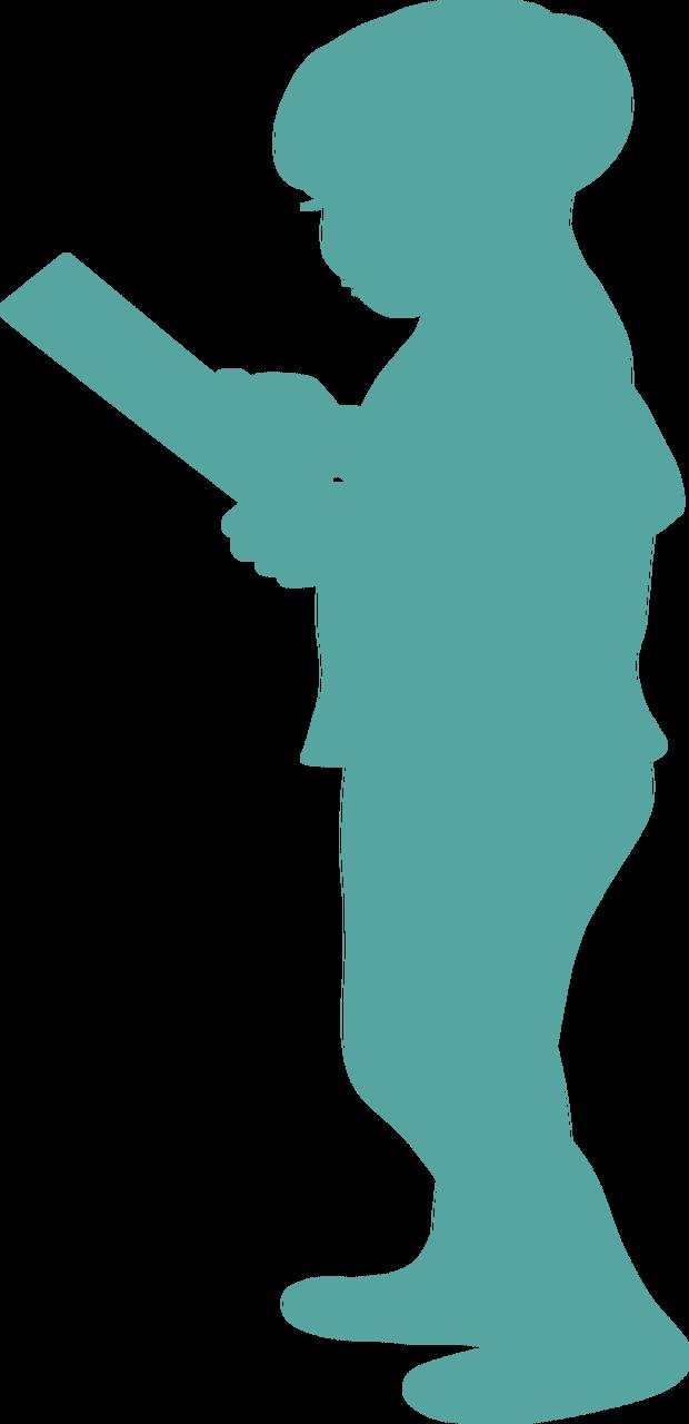 Boy Silhouette #5 SVG Cut File
