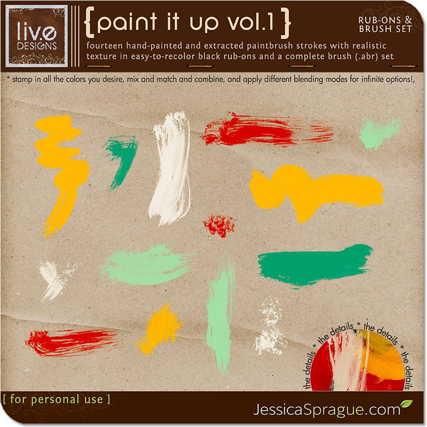 Paint It Up Vol.1