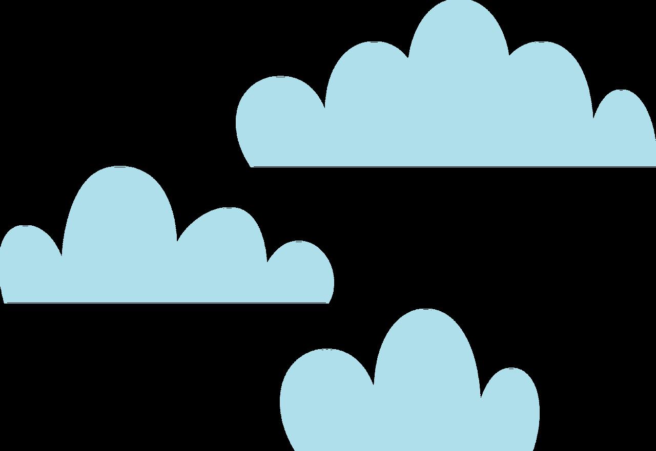 Clouds SVG Cut File