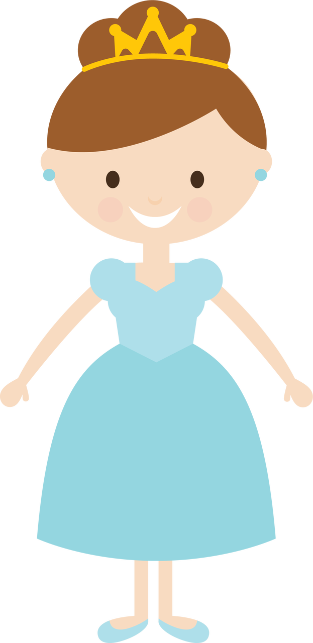 Princess #4 SVG Cut File