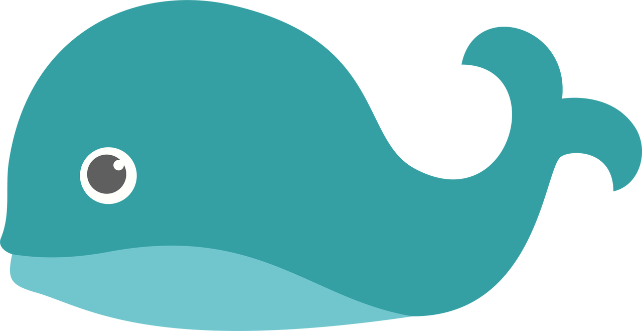 Whale #3 SVG Cut File