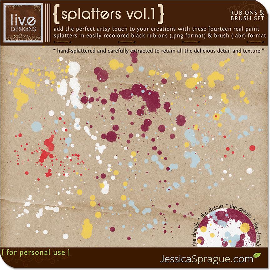 Splatters Vol.1
