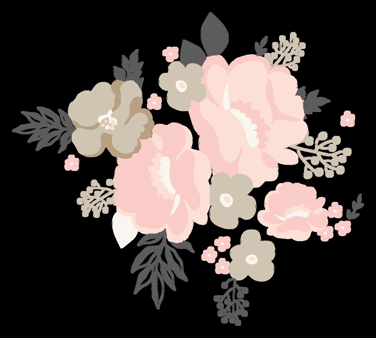 Wedding Flower Bundle Print & Cut File