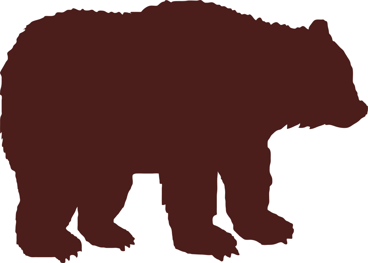 Grizzly Bear SVG Cut File