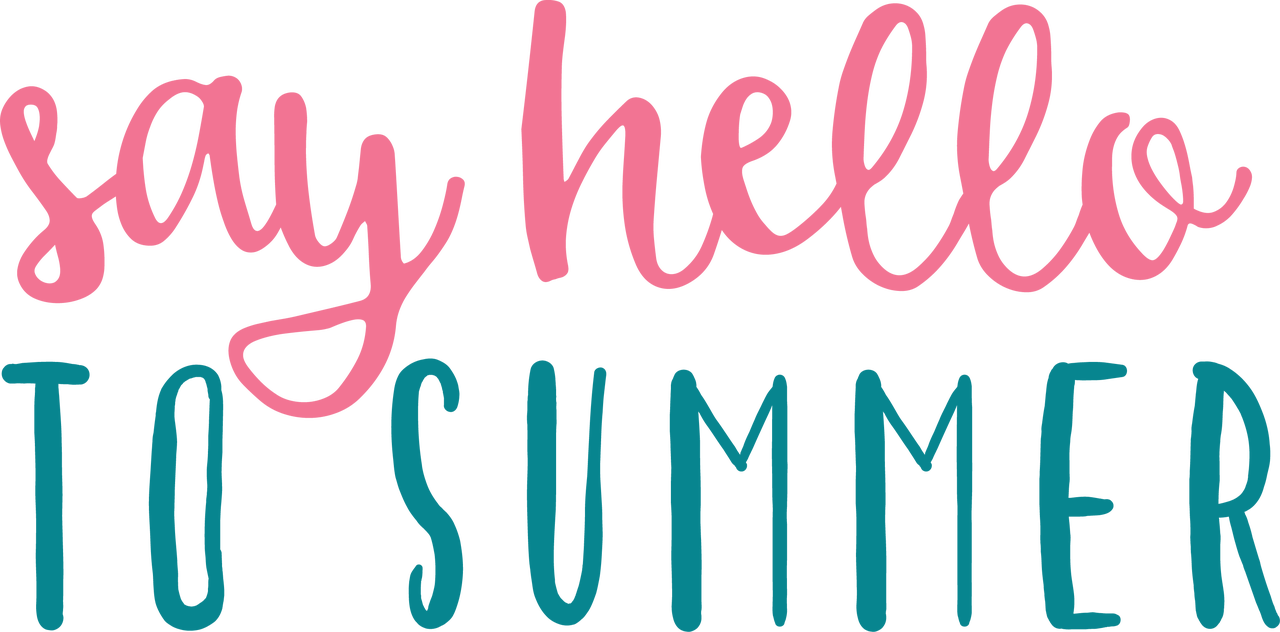 Say Hello To Summer SVG Cut File