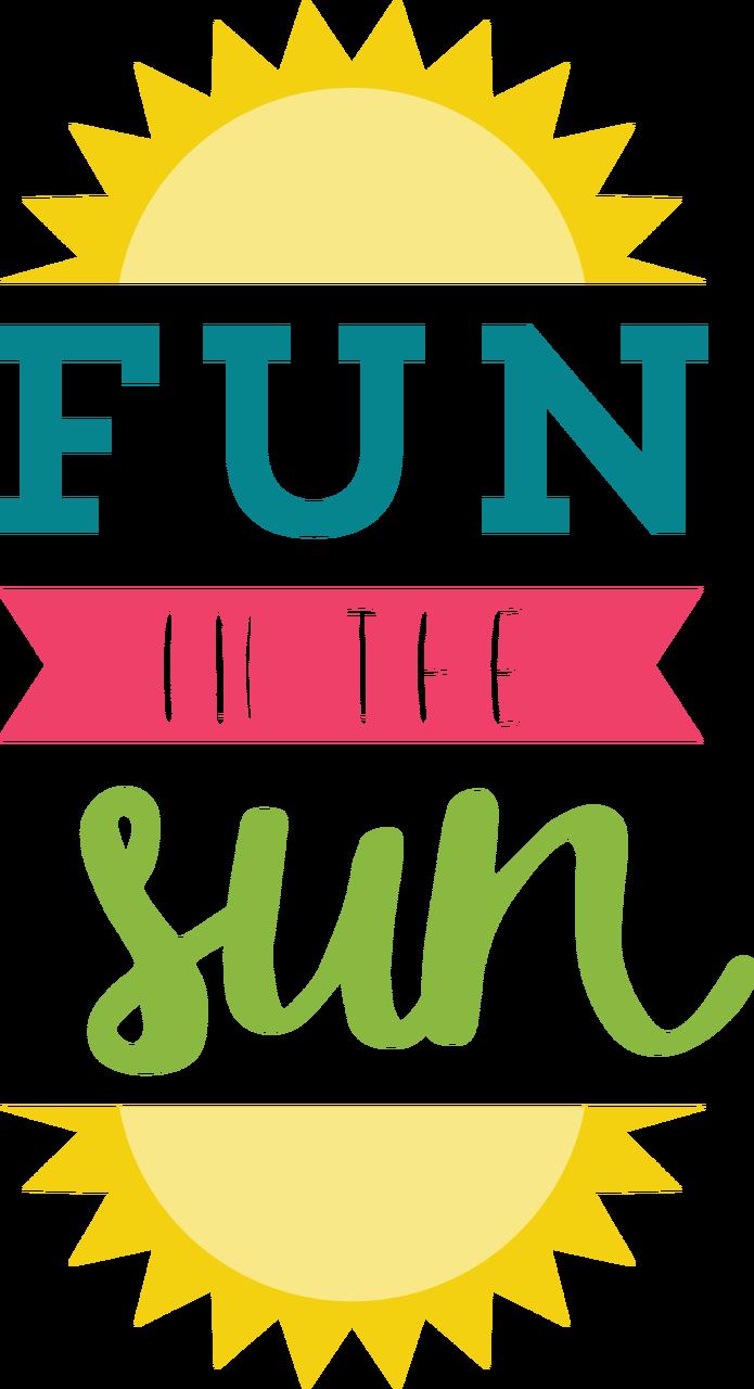 Fun In The Sun SVG Cut File