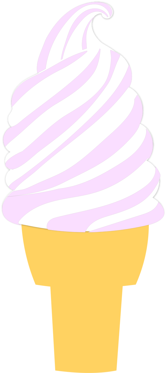 Ice Cream Cone #3 SVG Cut File