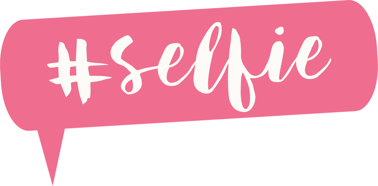 #Selfie SVG Cut File