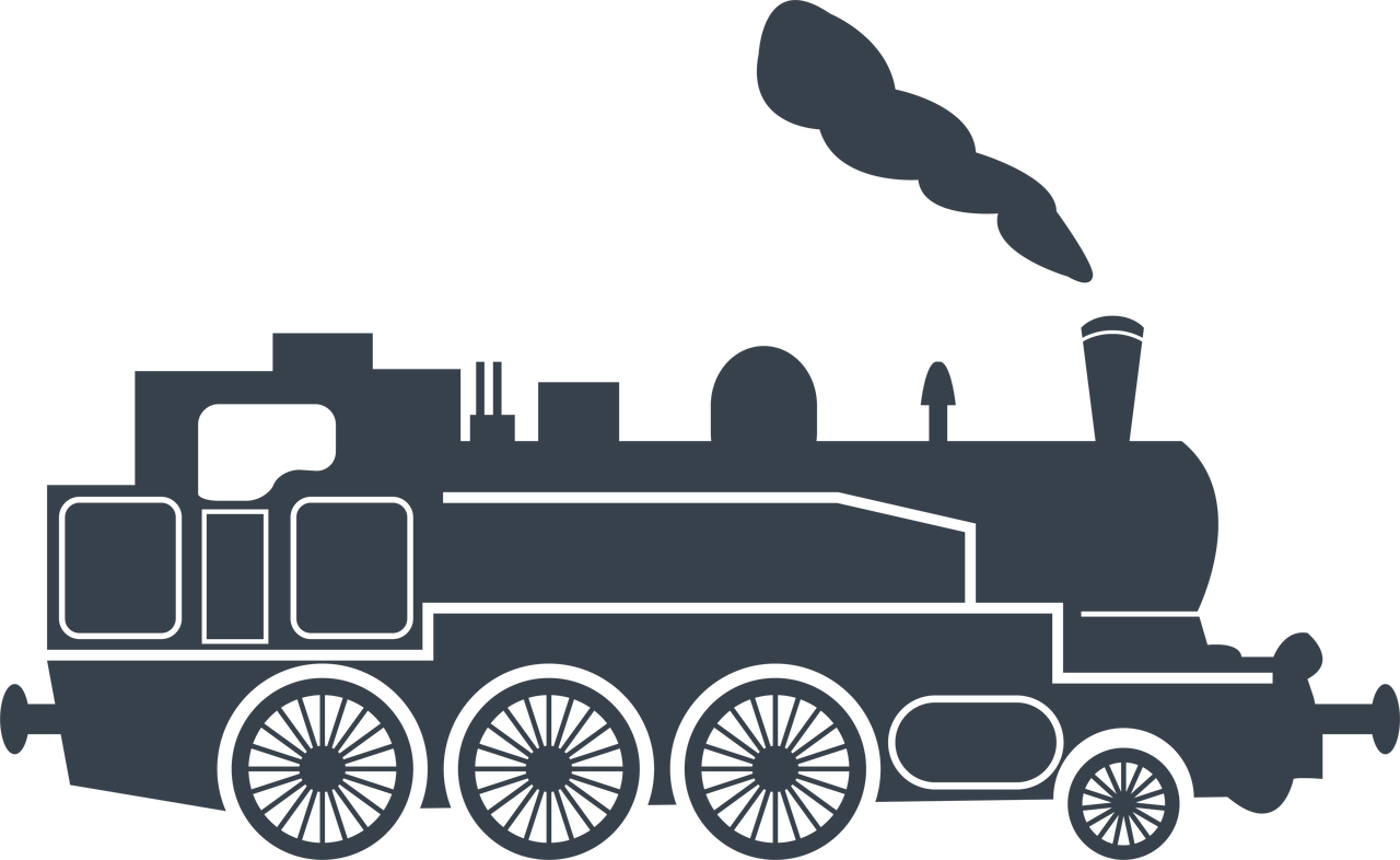Train #2 SVG Cut File